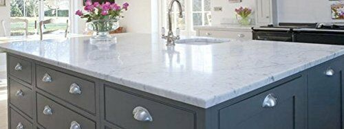 Laminate Counter Top Faux White Marble Peel And Stick Film