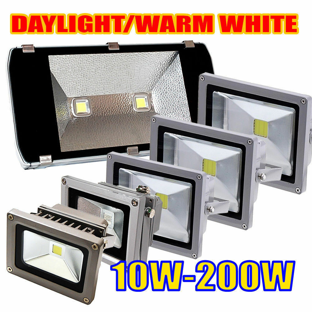 Garden Lights Kopen 200w 50w 30w 20w 10w Led Rgb Flood Spot Light Outdoor Landscape Garden Lamp Ebay