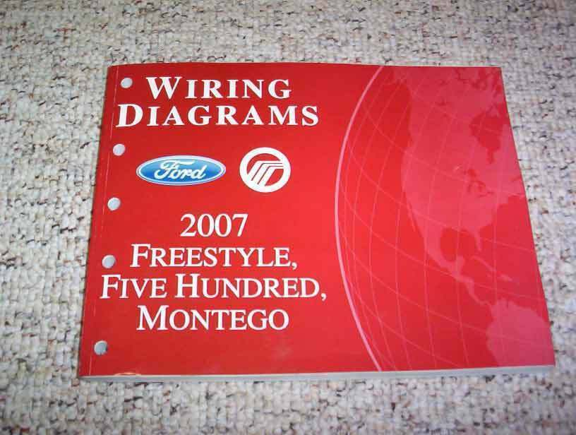 2007 Ford Freestyle Electrical Wiring Diagram Manual SEL Limited 30