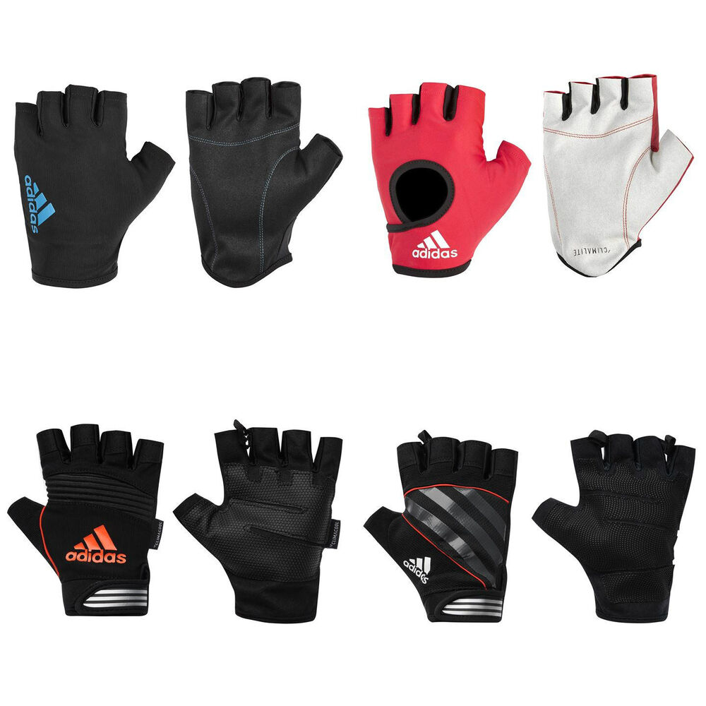 Ebay Essen Adidas Gym Gloves New Performance Essen Weight Lifting Half Finger Training Ebay