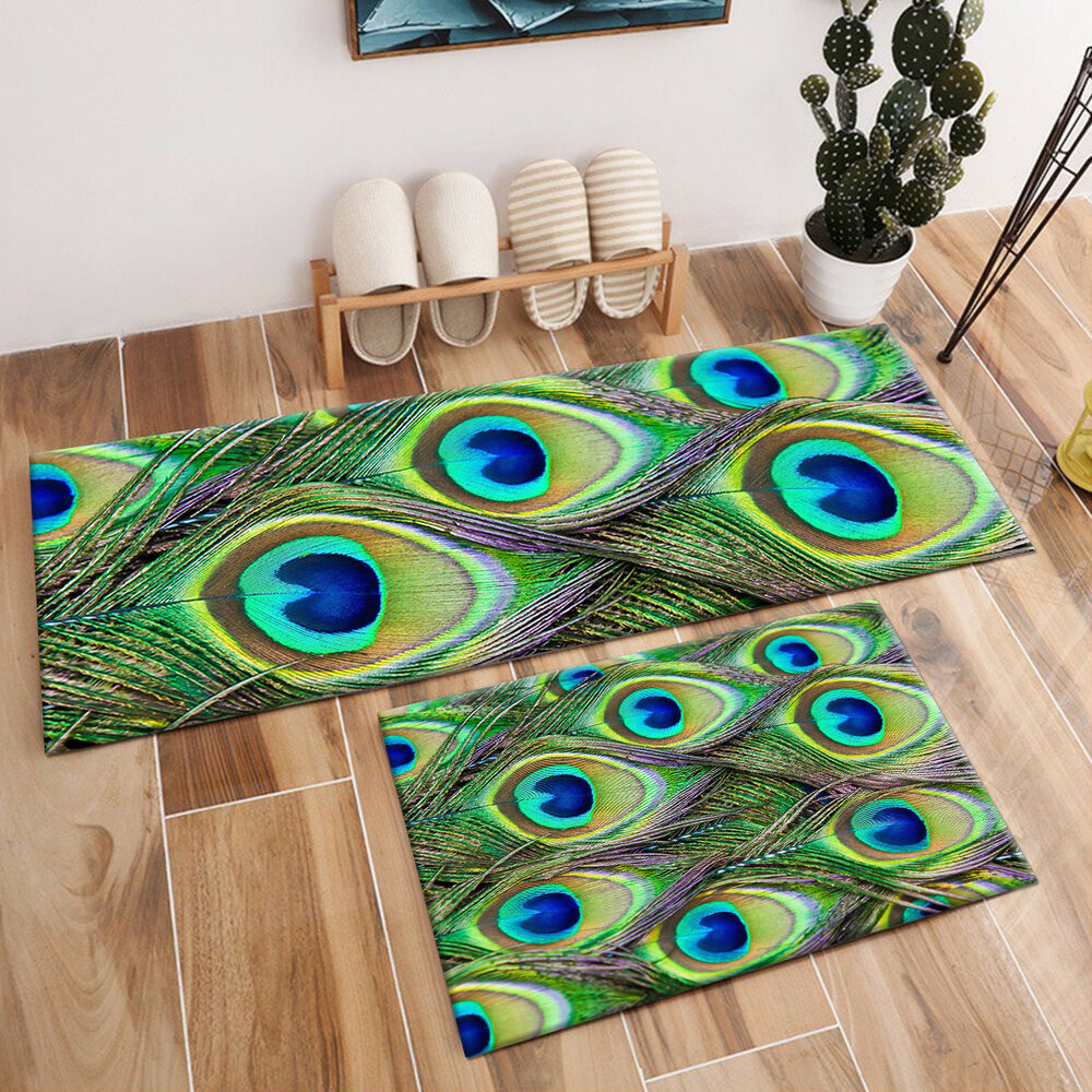 Peacock Living Room Peacock Feather Home Decor Floor Area Rug Living Room Bedroom