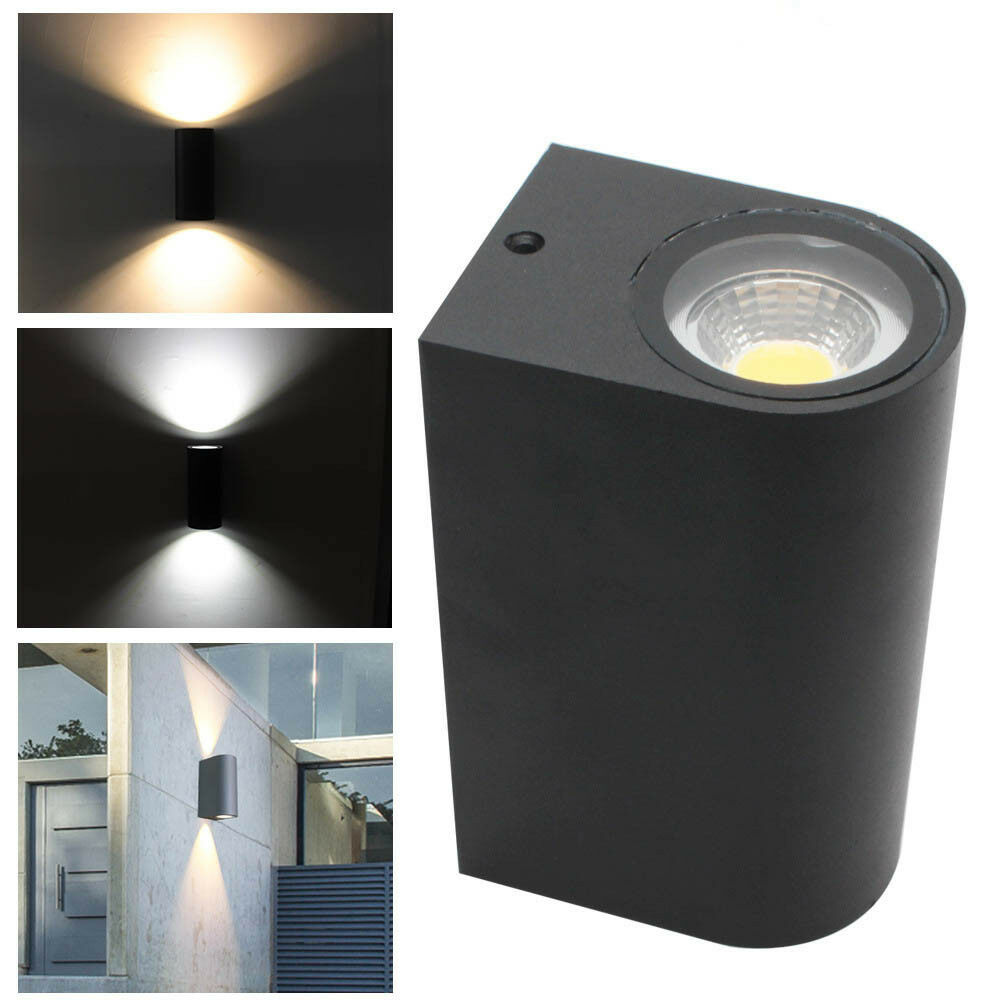 Eglo Riga Led Outdoor Wall Light Up Down Wall Lights Exterior