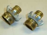 "NEW! Nelson 3/4"" GARDEN WATER HOSE FITTINGS, MALE & FEMALE ..."