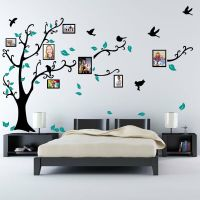 Family Tree Bird Photo Frame Nursery Wall Quotes, Wall ...