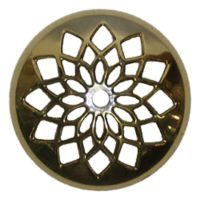 Stained Glass Lamp Supplies 5 Inch Cast Brass Vented Vase ...