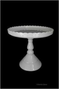 Tall White Cake Stand. Sophia White 3-Tier Cupcake Stand ...