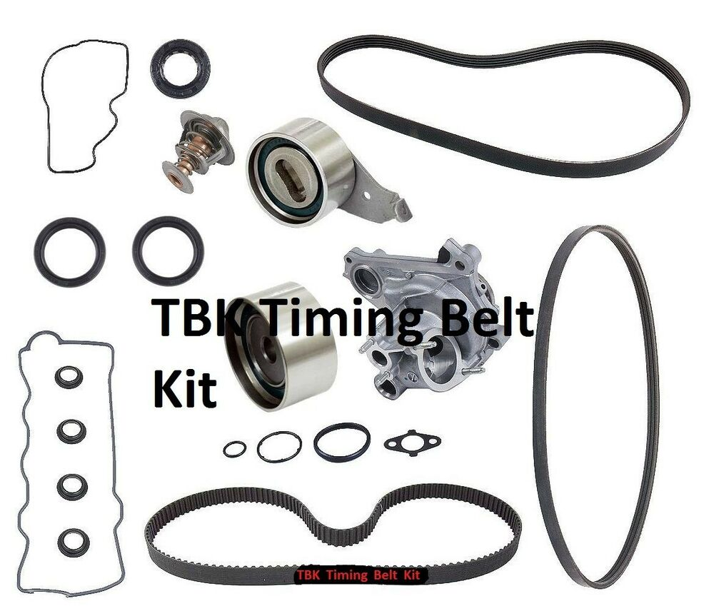 toyota timing belt list