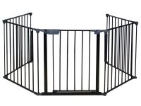 Baby Safety Fence Hearth Gate BBQ Metal Fire Gate ...