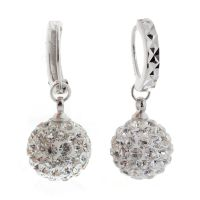 Fashion Womens Jewelry 18K White Gold Filled Crystal ...