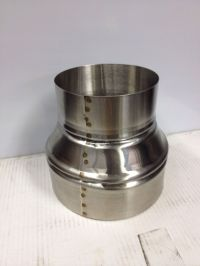 6 inch to 7 inch stove pipe Stainless Steel Single Wall ...