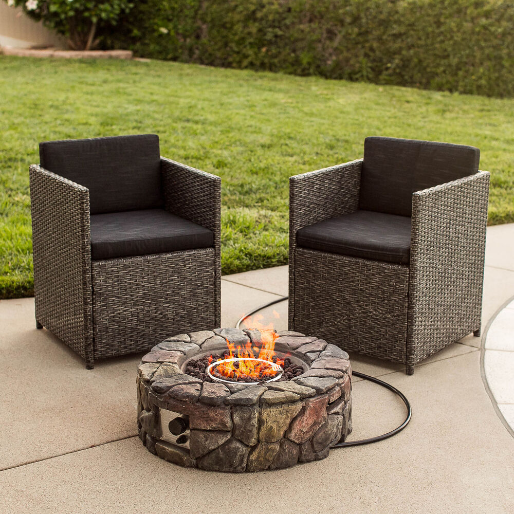 Best Choice Products Bcp Stone Design Fire Pit Outdoor
