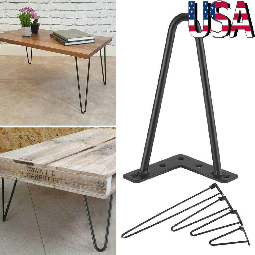 Diy Desk With Hairpin Legs 4x 8