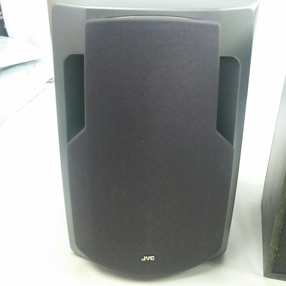 Nice Speakers For Room Classic Jvc Stereo Bookshelf Room Speakers Ebay
