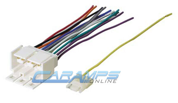 NEW GM CAR STEREO CD PLAYER WIRING HARNESS WIRE PLUG FOR AFTERMARKET