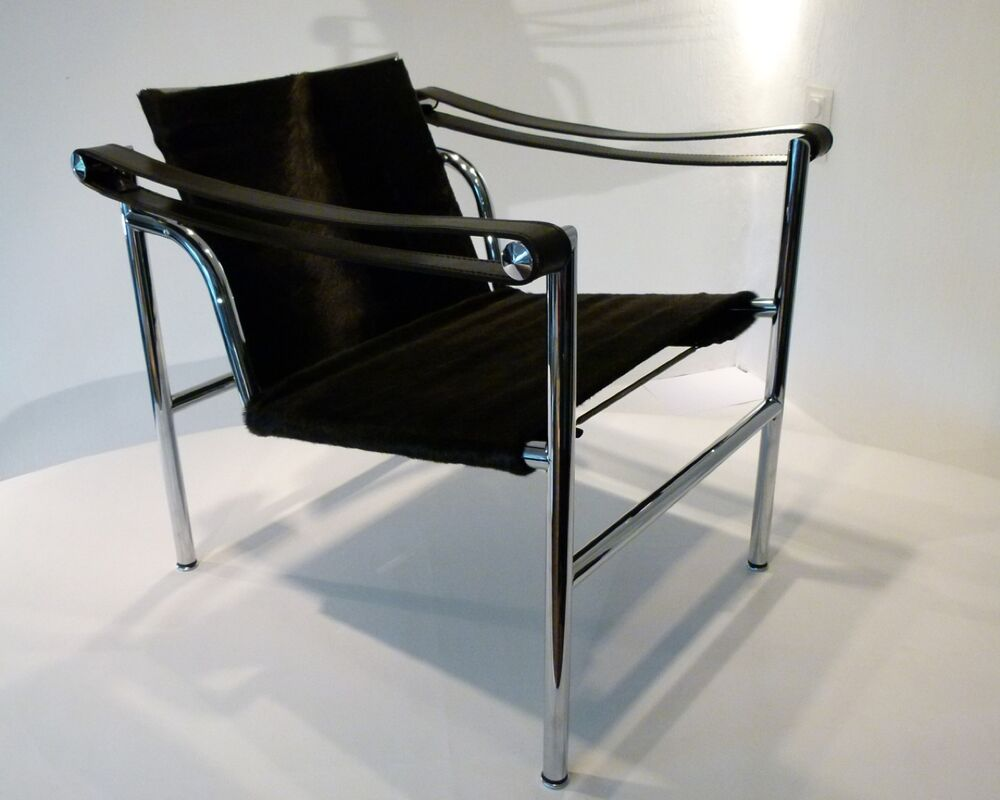 Design Sessel Lounge Cassina Lc1 Le Corbusier Jeanneret Perriand Design Lounge Chair Sessel Pony Ebay