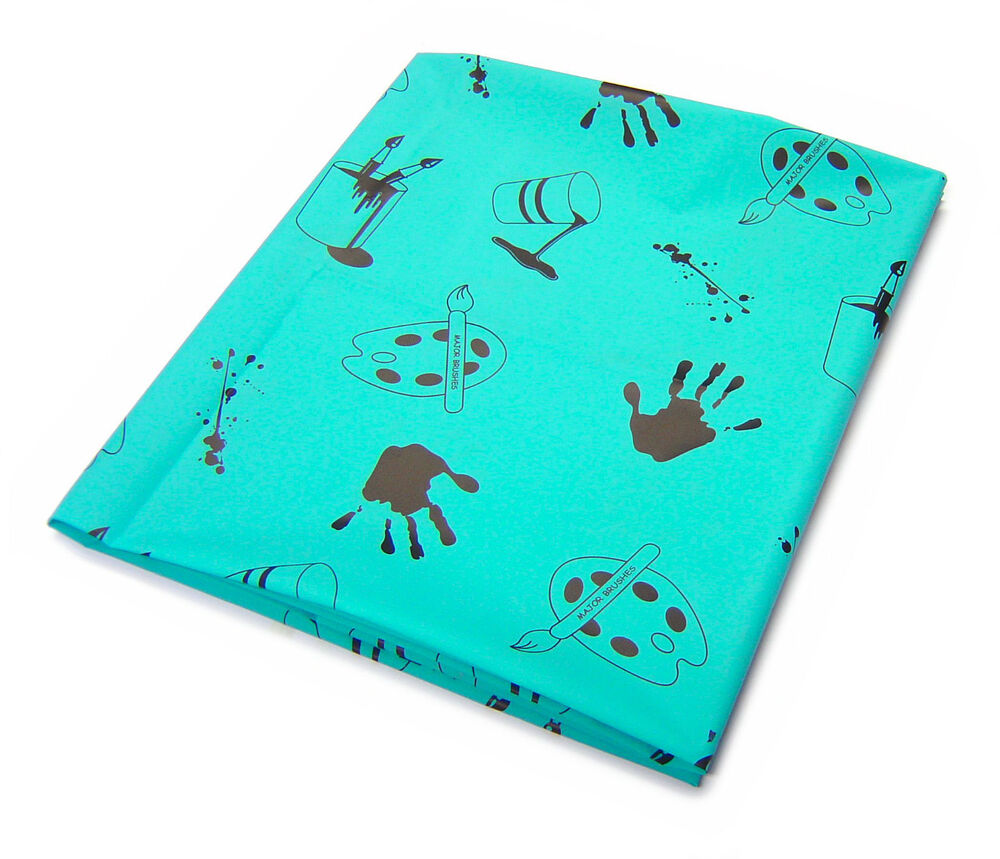 Plastic Floor Protector Craft & Painting Table Cover Messy Mat Protect Furniture 1