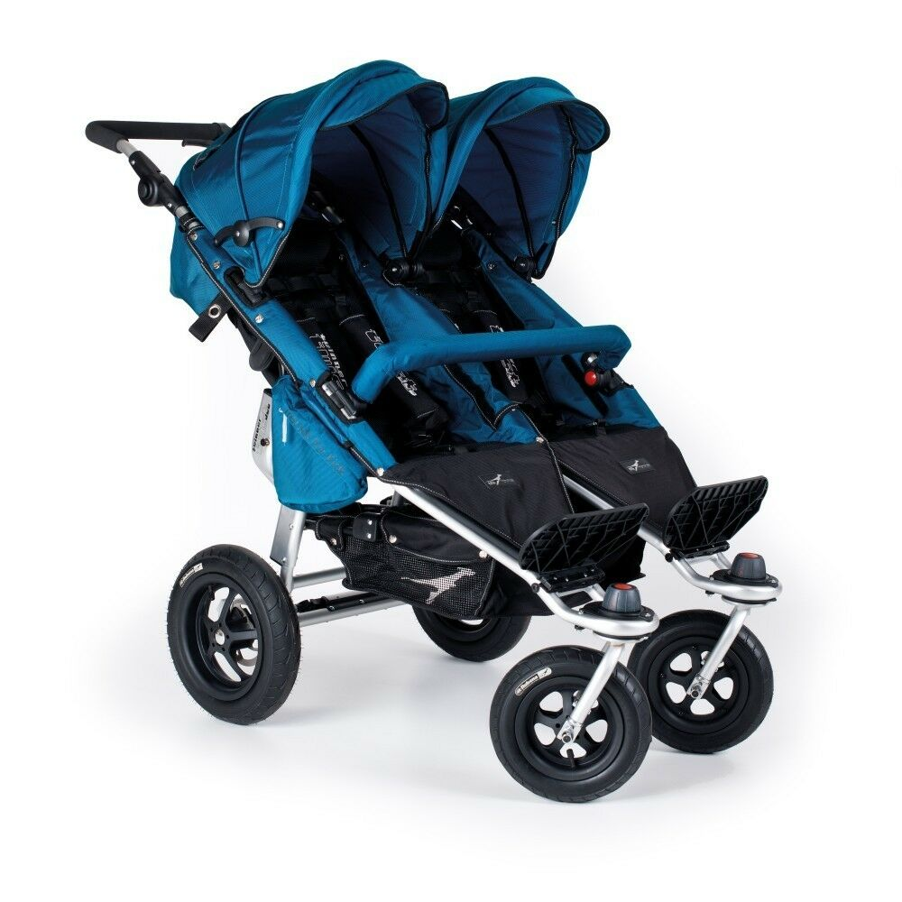 Baby Pram Double Trends For Kids Twinner Twist Duo Double Stroller In Ocean