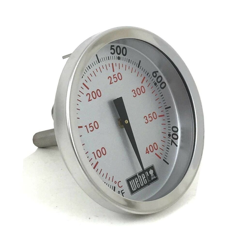 Weber Grill Thermometer Genuine Weber Gas Grill Replacement Thermometer 67088 Ebay