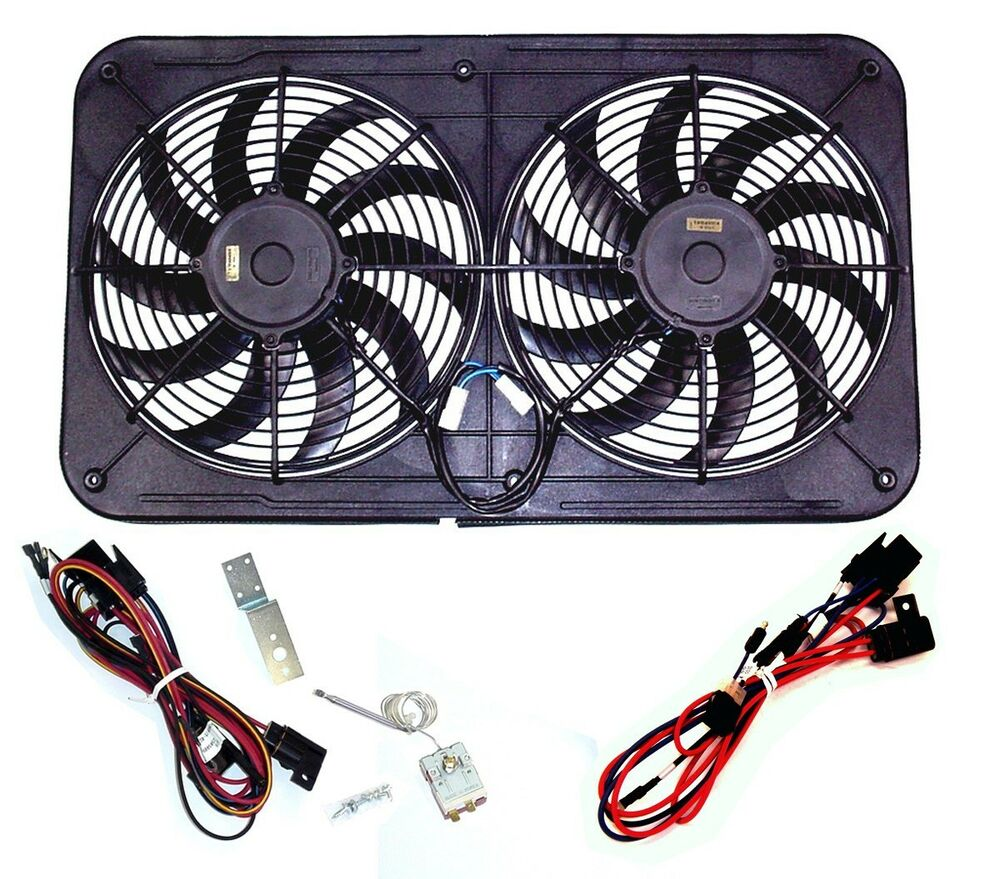 electric fan wiring harness