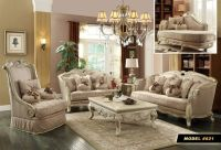 Meridian 621 6-PC Antique White French Provincial Living ...