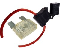 8 GAUGE INLINE MAXI FUSE HOLDER WITH 80 AMP FUSE WITH ...