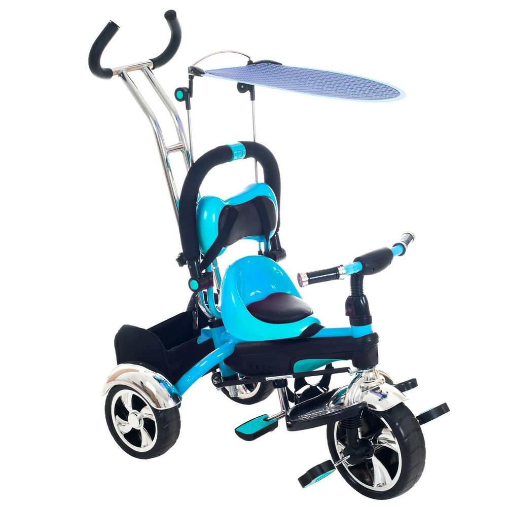 Stokke Stroller Age Range 2 In 1 Stroller Tricycle With Canopy Transforms For Your Child Ages 2 To 5 Blue 886511497290 Ebay