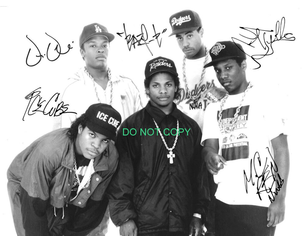 Nwa Iphone Wallpaper Nwa N W A Reprint Signed 11x14 Poster 2 Straight Outta