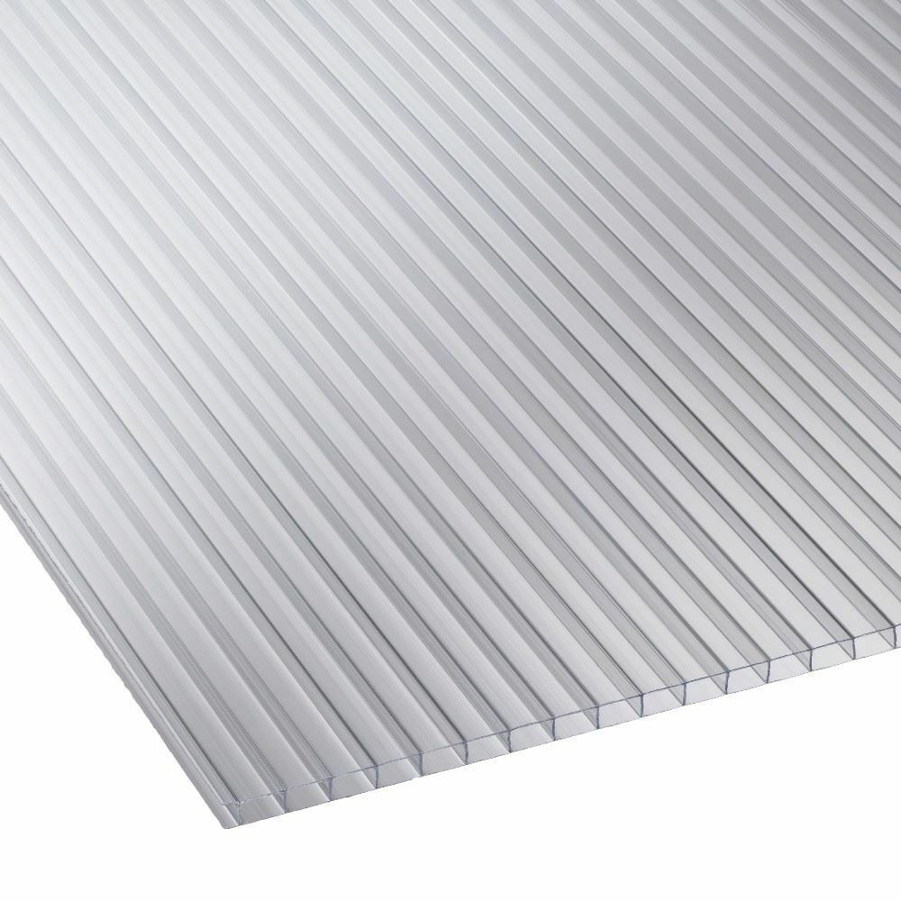 4mm Twin Wall Polycarbonate Sheet Clear, Opal, Frosted