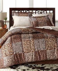 Leopard Safari Wild Cats Animal Print King Comforter Set ...