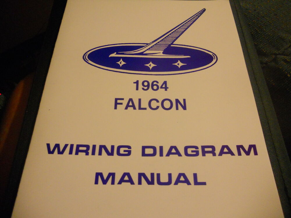 1964 Ford Ranchero Wiring Diagram Manual eBay