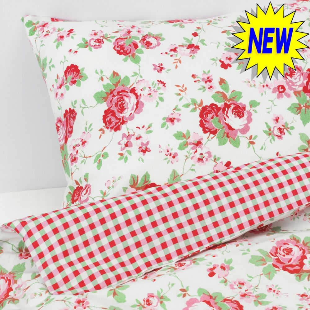 Biancheria Da Letto Ebay Valdern Rosali Single Size Duvet Quilt Cover Set Bedding Floral Pattern Cath 7105274402123 Ebay