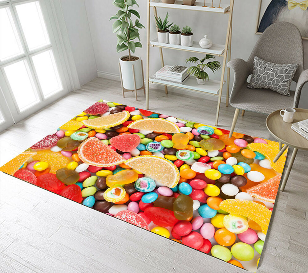 Rugs For Kids Sweets Candy Area Rugs Living Room Floor Mat Bedroom Rug Kids Play
