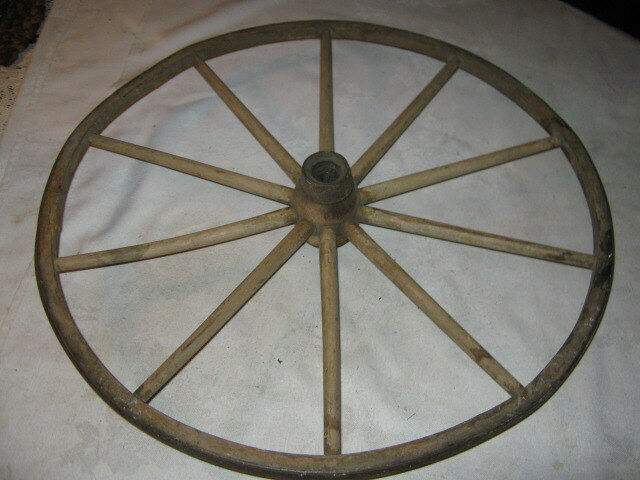 Toy Buggy Ebay Primitive Antique Baby Carriage Buggy Wood Iron Wheel