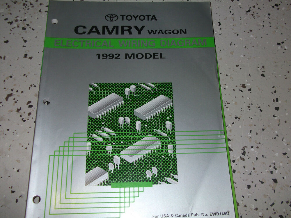 1992 Toyota CAMRY WAGON Electrical Wiring Diagram Troubleshooting