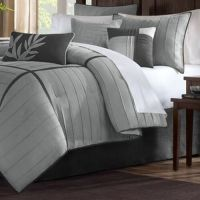 Madison Park Meyers Grey 7-piece Solid Casual Pattern ...
