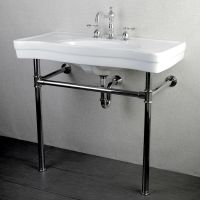 Imperial Vintage 36-inch Wall-mount Chrome Pedestal ...