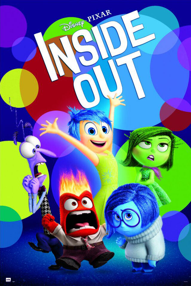 Ebay 3d Wallpaper Photo Inside Out Disney Pixar Movie Poster Print Regular