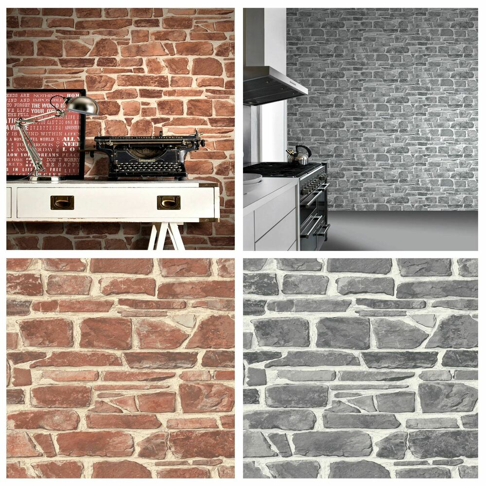 3d Effect Stone Brick Wall Textured Vinyl Wallpaper Self Adhesive Stone Wall Wallpaper Brick Effect Quality Textured Feature