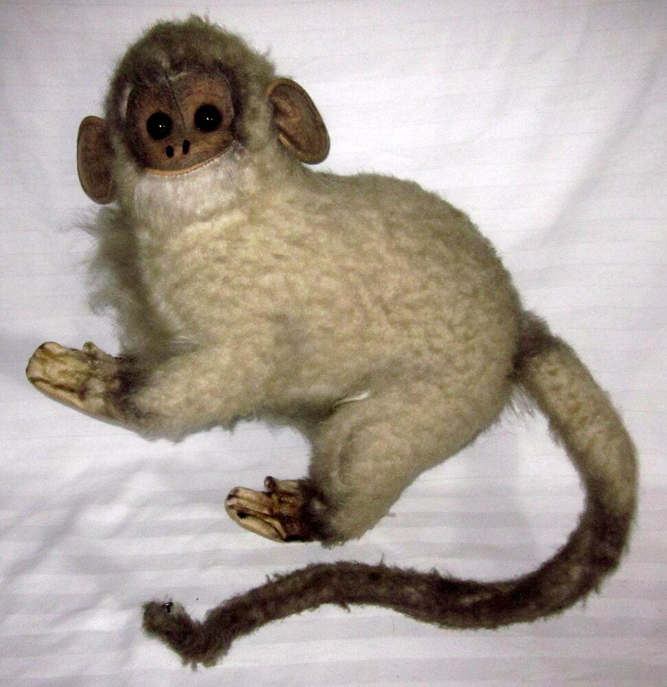 Kamar Vintage Kamar Vintage Mohair Grey Brown Adult Monkey Wild Animal Used Ebay