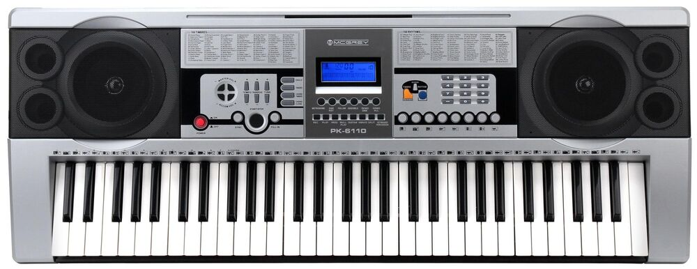 Digital 61 Tasten Keyboard E Piano Klavier 100 Sounds - Klavier Kaufen Ebay