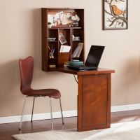 Harper Blvd Darryl Fold-Down Wall Mount Desk | eBay