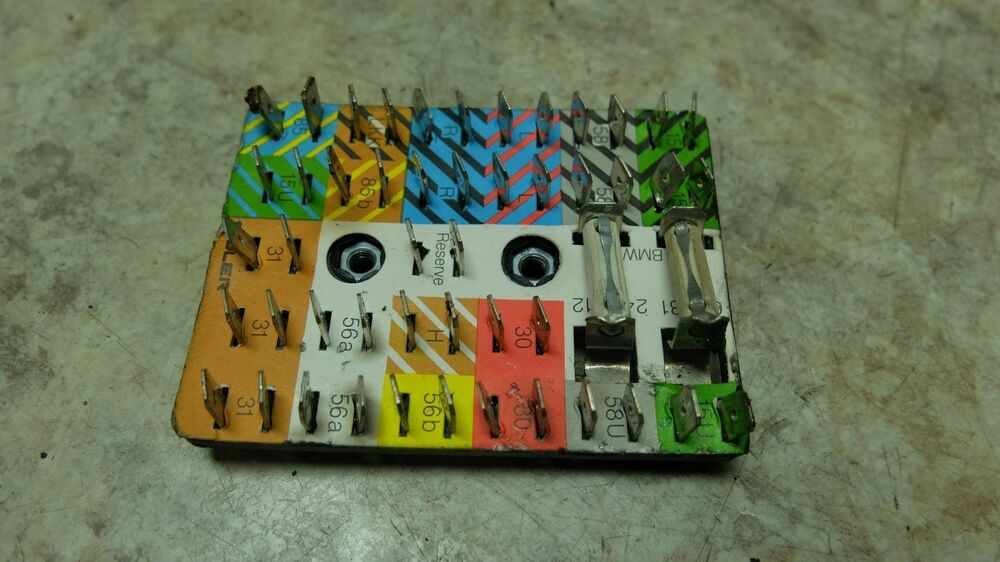 81 BMW R100RT R 100 RT Airhead Fuse Junction Box Fusebox eBay