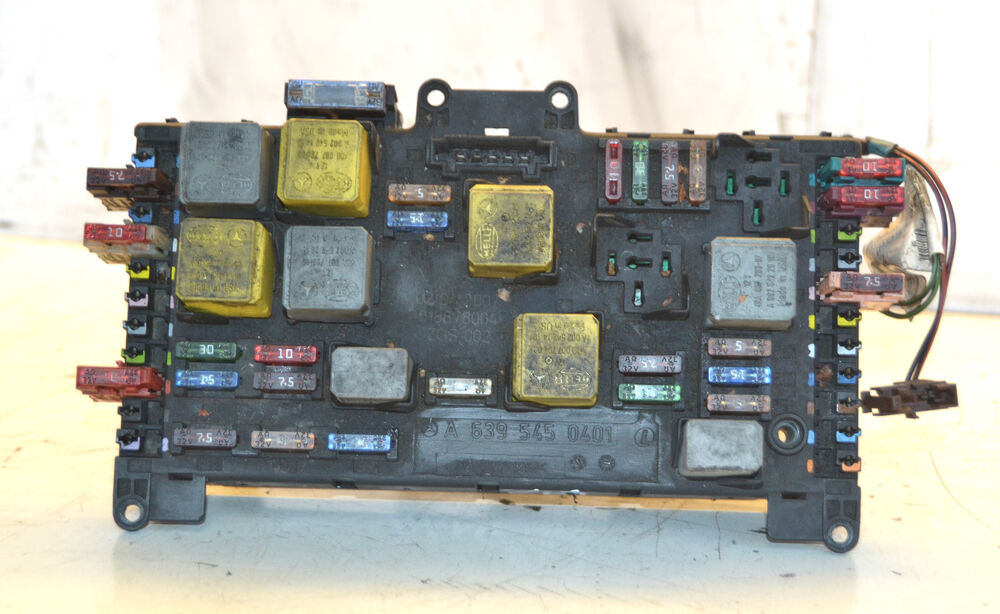 mercedes benz vito fuse box