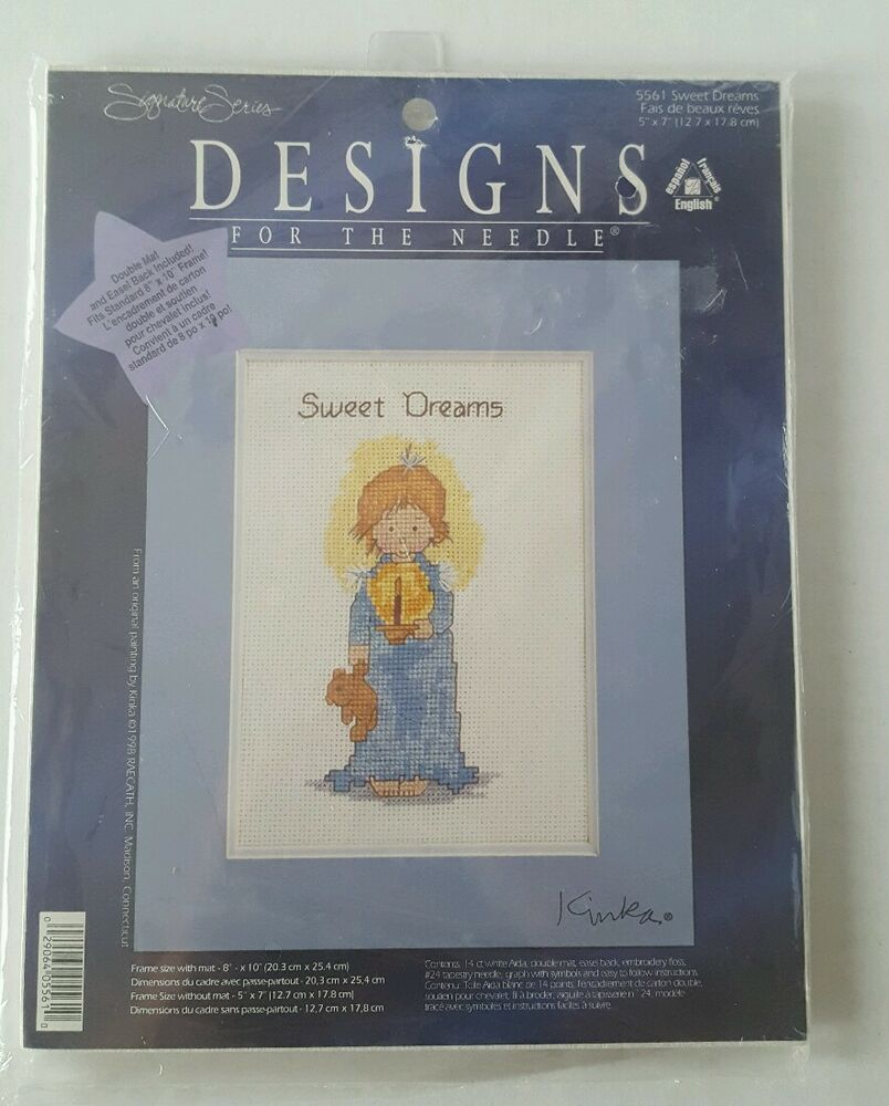 Dimension Standard Cadre Designs For The Needle Sweet Dreams Counted Cross Stitch Kit 5561 29064055610 Ebay