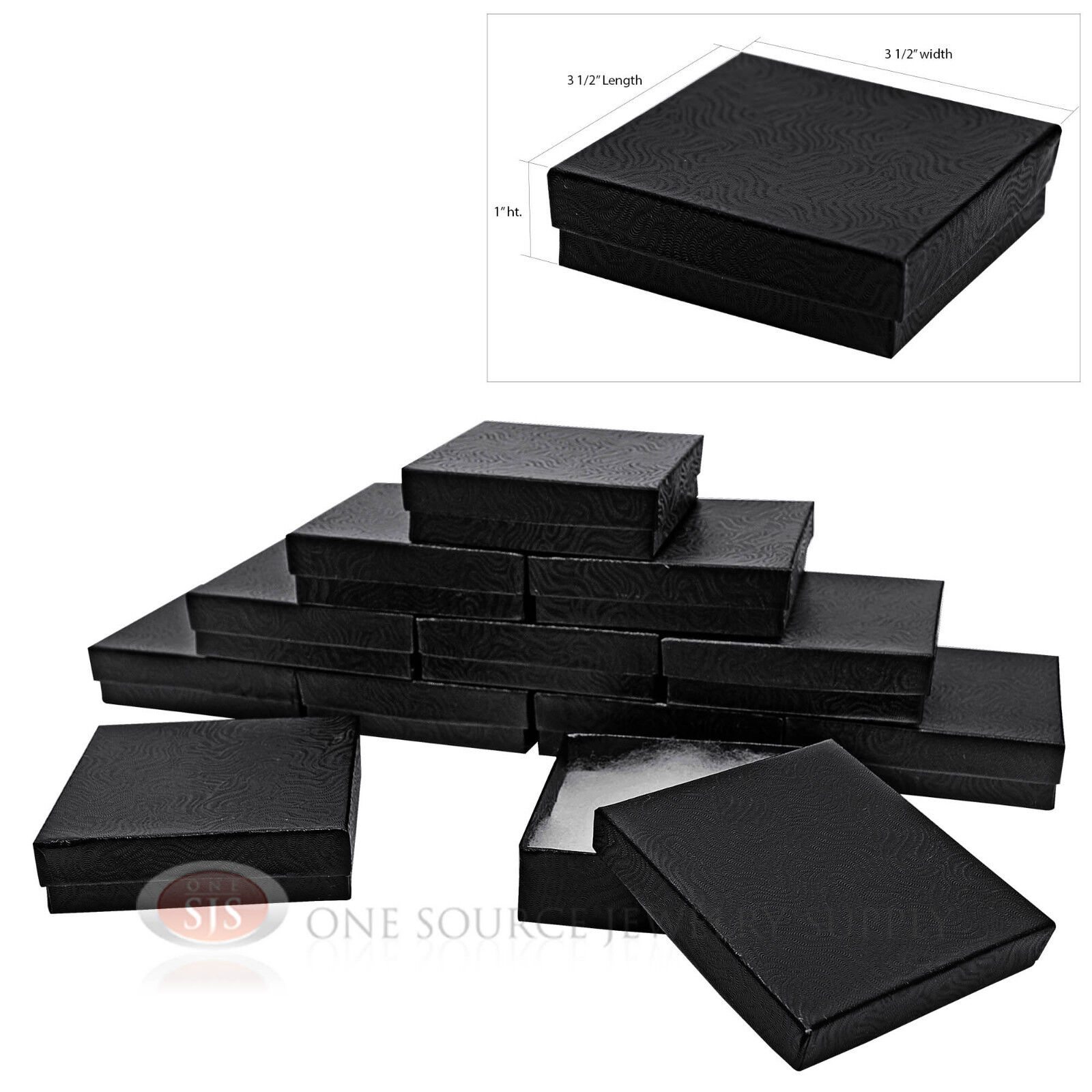 Black Gift Boxes Details About Lot Of 12 Black Cotton Filled Boxes Jewelry Gift Boxes Bracelet Bangle Box 3