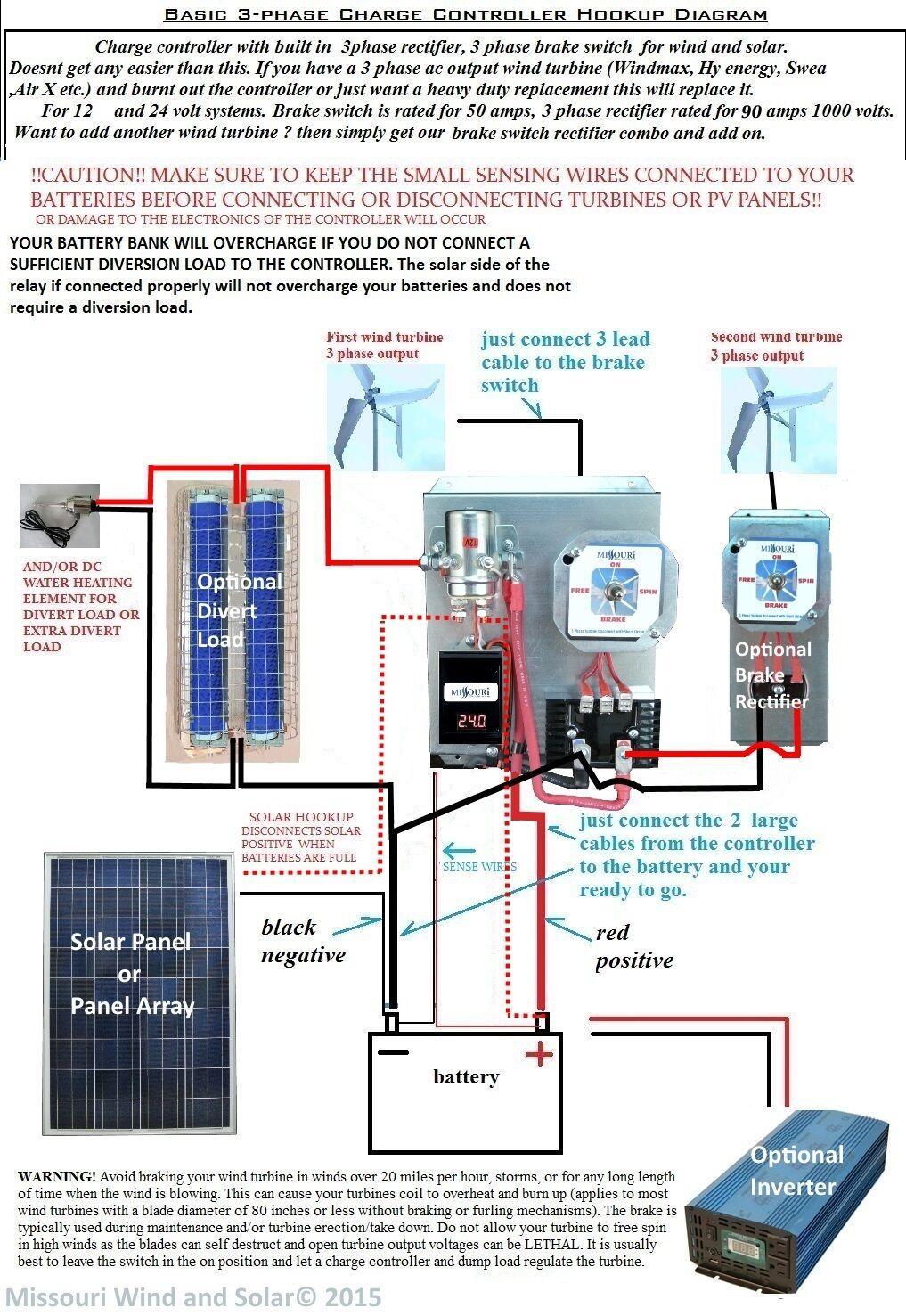 xantrex charge controller wiring diagram