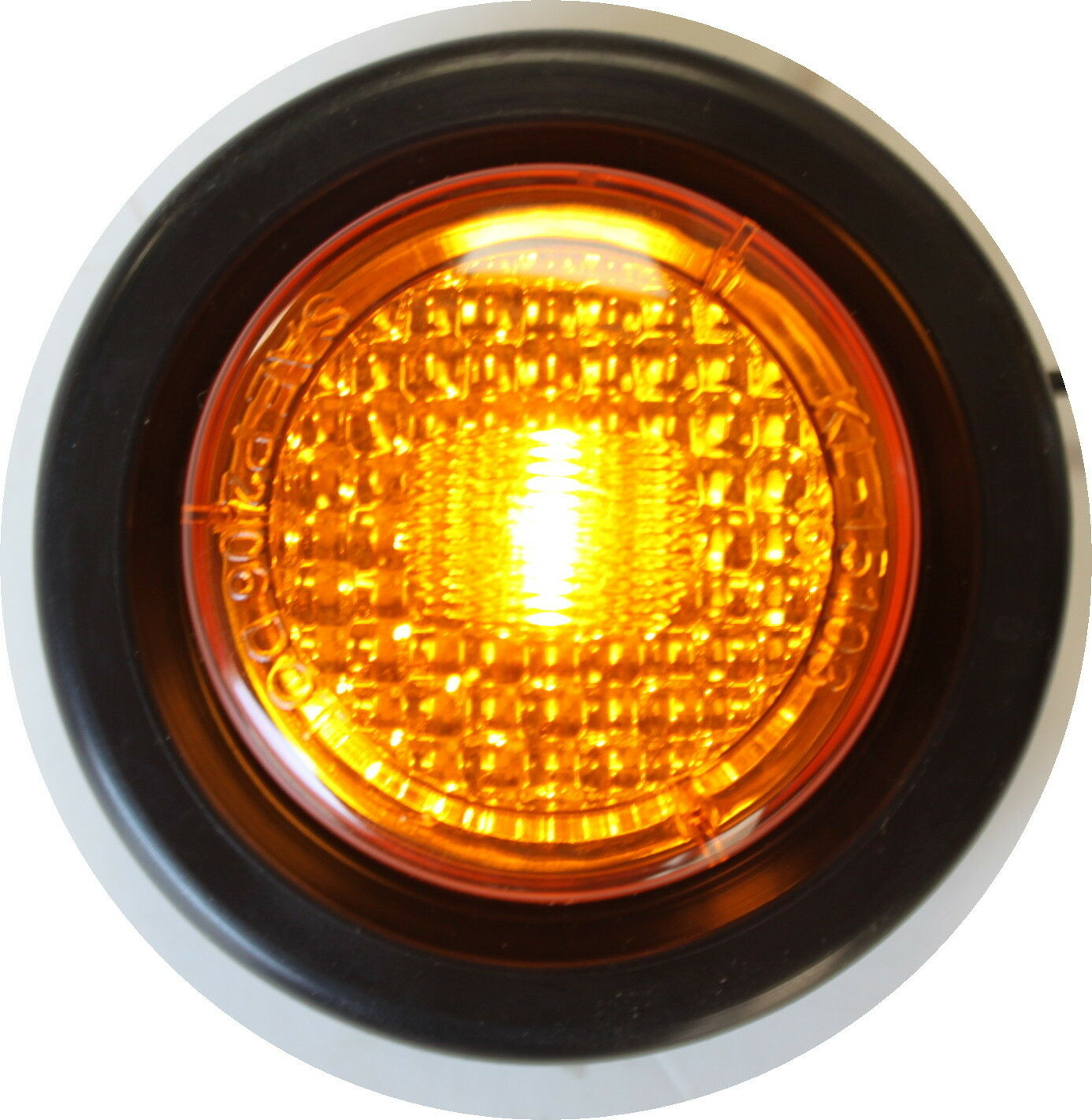 Amber Led 16x Truck Trailer 2 Quot Amber Round Side Marker Led Clearance