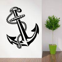 ANCHOR RETRO VINTAGE TATTOO SHIPS vinyl wall art sticker ...