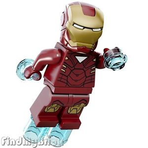 Lego Minifigure Coloring Pages BM011 Lego Super Heroes Iron Man Minifigure Marvel Universe 6867 New x