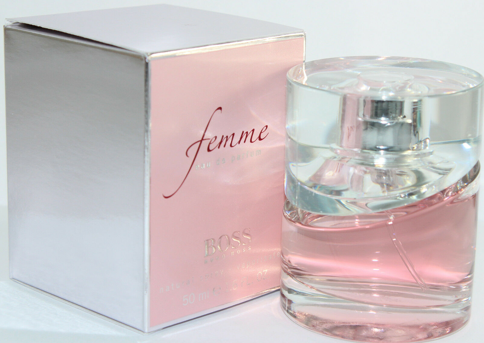 Boss Femme Edp Boss Femme By Hugo Boss 1 6 1 7 Oz Edp Spray For Women New